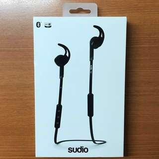 Sudio Sweden Tre Black Bluetooth Earphones