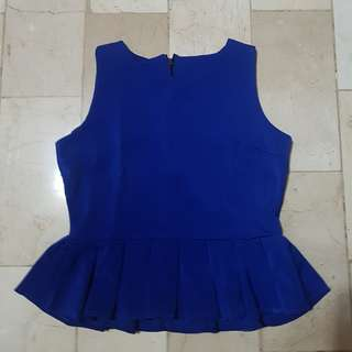 Blue top ( Used once )