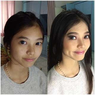 MAKEUP - Party Graduation Yearbook Photo Prewed