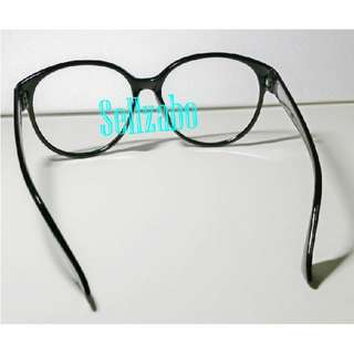 Round Glasses Frame Big Roundish Black Colour Sellzabo Spectacles