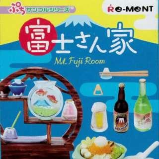 Re-Ment 富士之家 紙巾盒 Kotatsu 餐桌 咕 Cusion 食玩 盒蛋 扭蛋