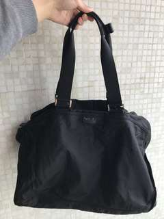 Agnes B Canvas Bag in black