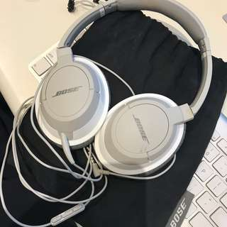 BOSE Wired Grey Over-Ear Headphone w Soft Case