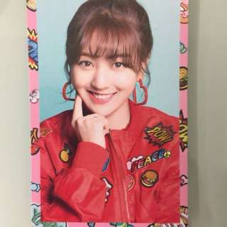 Twice Candy Pop Jihyo小卡