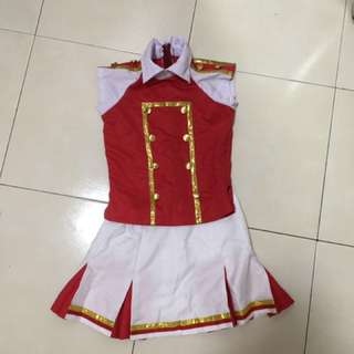 Cheerleader costume #FEB50