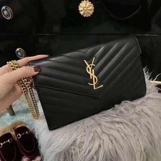 YSL Clutch sling bag on sale