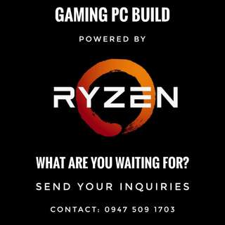 Ryzen Powered Gaming PC Build