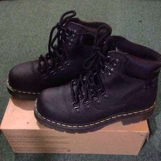 Dr. Martens industrial boots