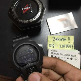 G-shock DW6900BB-1 or DW-6900BB-1 NEW IN BOX