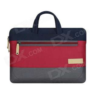 "Cartinoe Laptop Inner Bag for Apple MacBook Air / Pro 13.3"" Tote Bags - Blue + Wine Red + Gray (with Retractable Handles)"