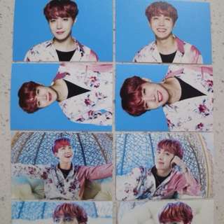 BTS wings tour in seoul mini photocard set (version 1)