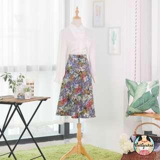 🍿 Vintage Midi Skirt VS1237