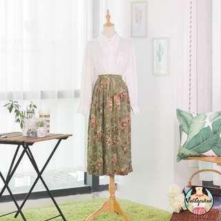 🍿 Vintage Midi Skirt VS1238