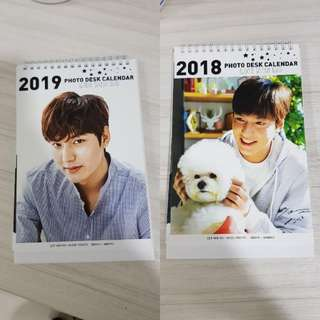 Lee Min Ho - Photo Desk Calendar
