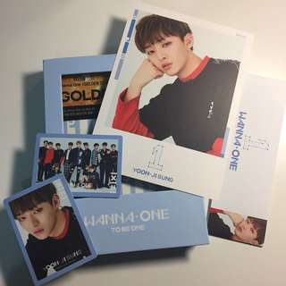 WANNA ONE to be one JISUNG sky full set