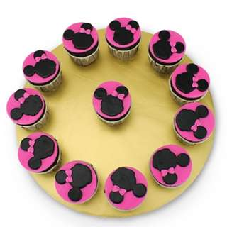 Homemade Delicious Minnie Mouse Cupcake !!
