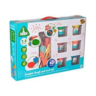 Elc bumper dough and tools set mainan lilin anak