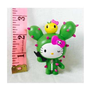 Rare Hello Kitty Tokidoki Cactus Kitty