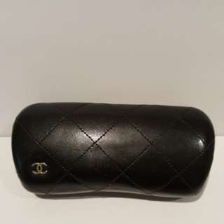 Chanel Quilted Hard Sunglasses Case