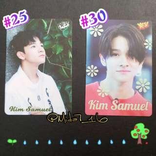 30期 - Kim Samuel - YES!卡 ( 白/夜光 )