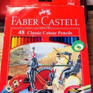 Faber Castell 48 Classic Colour Pencils