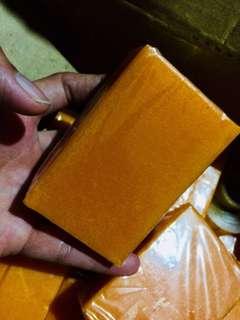 Home made Papaya Soap.