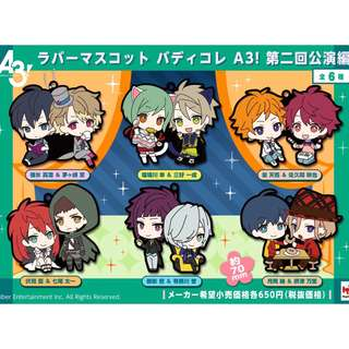 【ORDERED】A3! Mascot Buddy Collection Vol. 2
