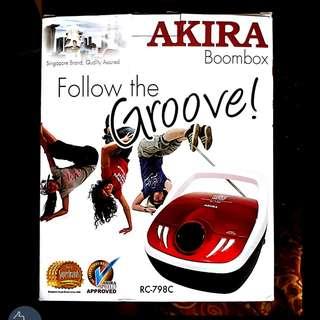 *NEW* Akira Boombox