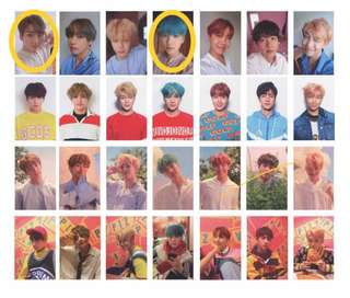 [WTT/LOOKING FOR] BTS LOVE YOURSELF HER PHOTOCARDS
