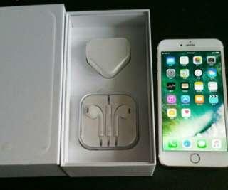 "99%  gold colour iPhone 6 64gb, Hong Kong zp version,  full set with box.  4.7"" original, like new, 100% working & good battery, full set new accessories, 7 days warranty.   4.7寸99% 新無花,港行zp, 100%全正常及電池良好,7日保養。"