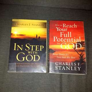In Step with God / How to Reach Your Full Potential for God by Charles Stanley  #bevere Meyer Osteen Christian Precious Moments Bible English
