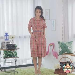 🍿 Vintage Midi Dress VD1099
