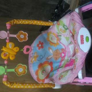 Fisher Price Rocker -pink-