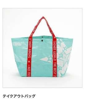 [全新]SHINee日巡大環保袋