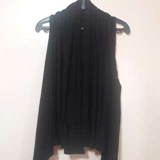 Cotton Black Vest