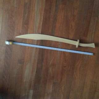 Brand new wooden ply wood big sword for practice for wushu chinese martial arts or cosplay