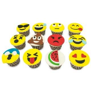 Homemade Exclusive Designed Emoji Cupcake !!