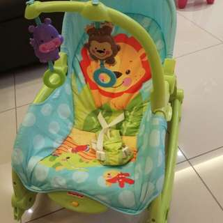 Fisher Price Rocker infant toddler bouncer chair