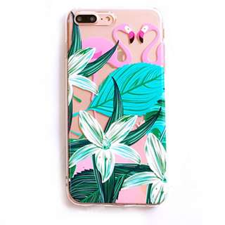 Iphone case Tropical flamingo