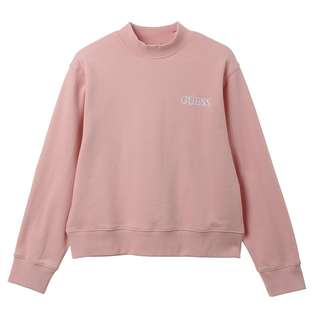 GUESS Korea - Baby Pink Jumper with Logo (Front Back)
