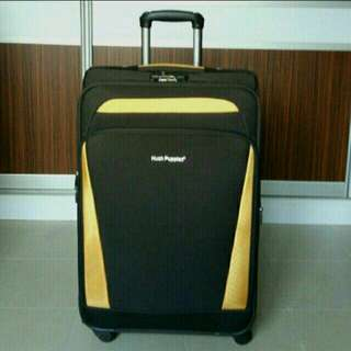 BEST DEAL: Authentic Hush Puppies Brown Luggage Bag Handle