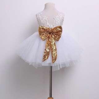 Princess Aisha Tulle Dress in white