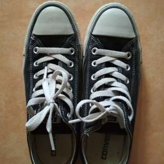 Converse low black & white