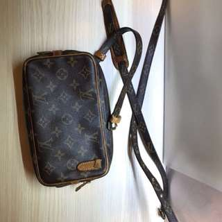 LV monogram Marley Crossbody Bag