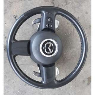 2009 Mazda RX8 Steering Paddle Shifts & Multi-function