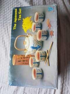 Vintage Japanese Tea Set (Unused)