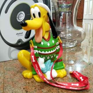 Disney Pluto holiday popcorn bucket
