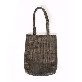 Witchery Woven Leather Tote Bag