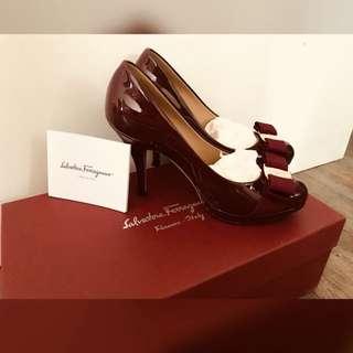 Ferragamo 9cm 高跟鞋 (size 35)