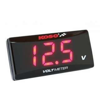 Ready Stock - Red / Blue Volt Meter